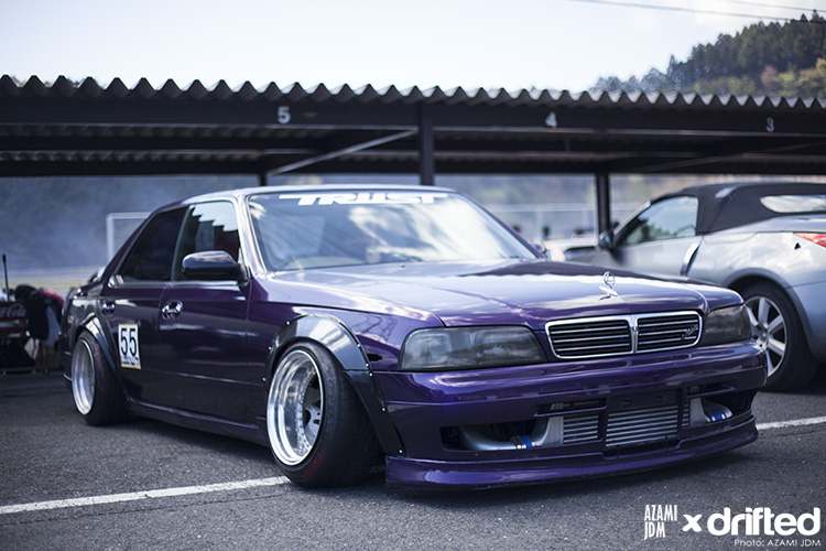 jdm car with tinted windows