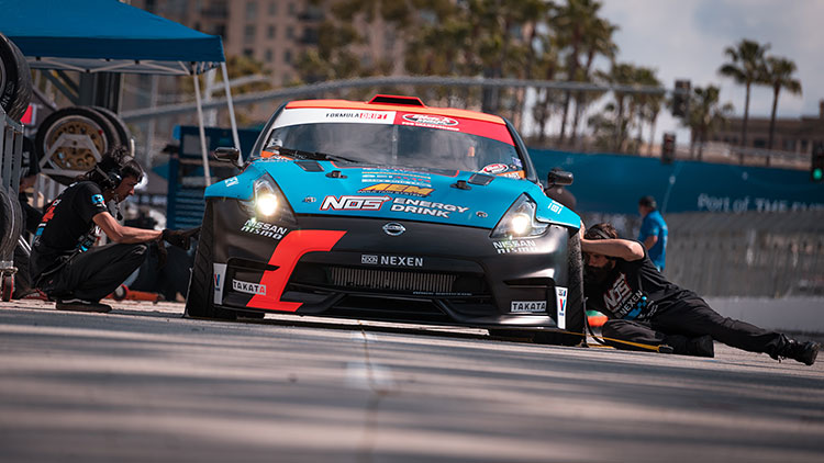 chris forsberg formula drift car