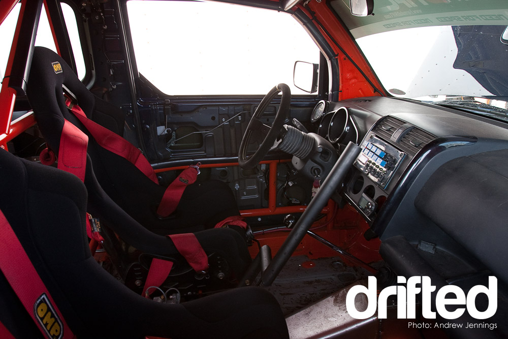 formula drift omp interior with hydraulic handbrake