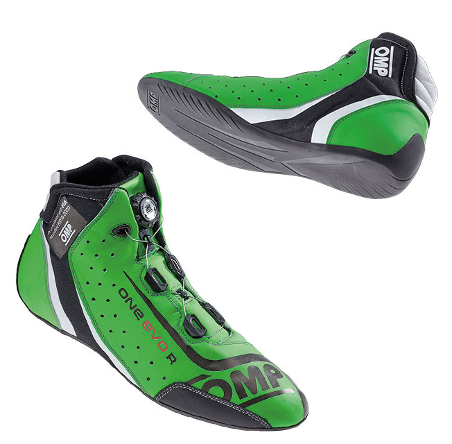 omp one evo r racing shoes