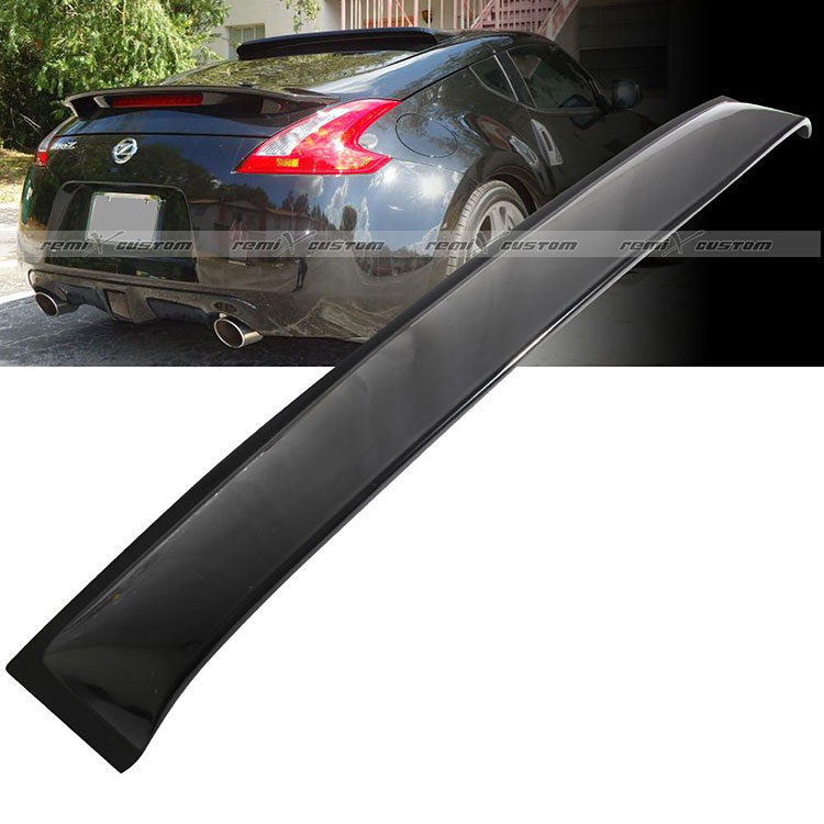 remix custom rear 370z spoiler
