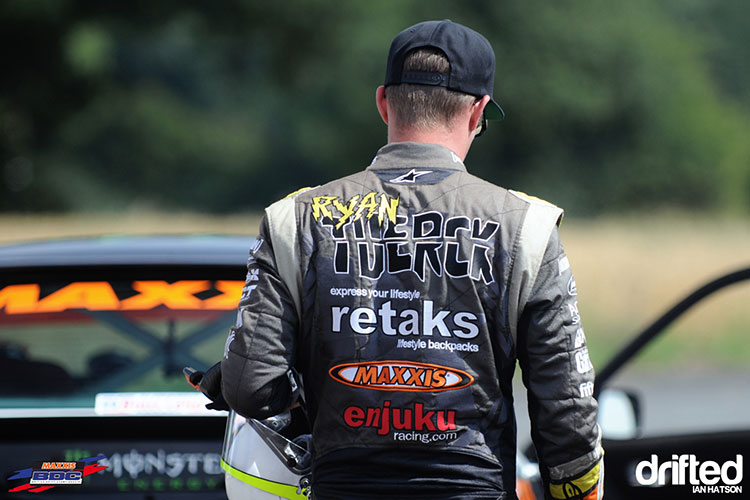 ryan tuerck in racing suit