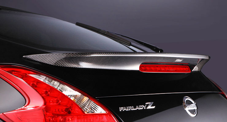 varis rear trunk 370z spoiler