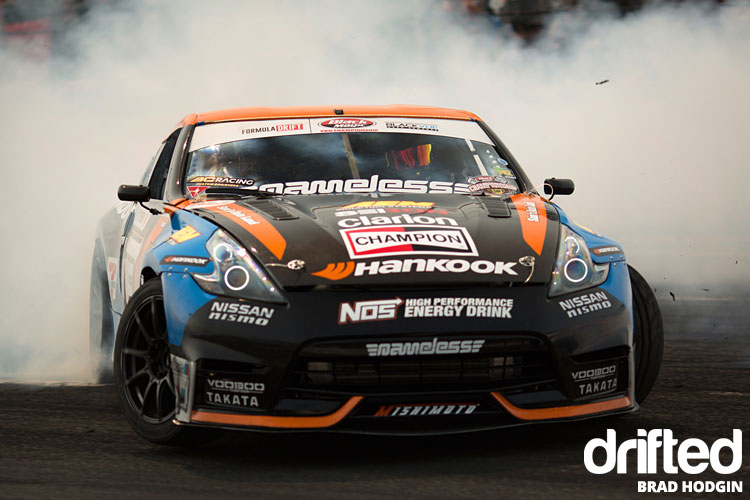 big smoke 370z tandem drift