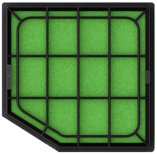 hks drop in panel filter 370z intake