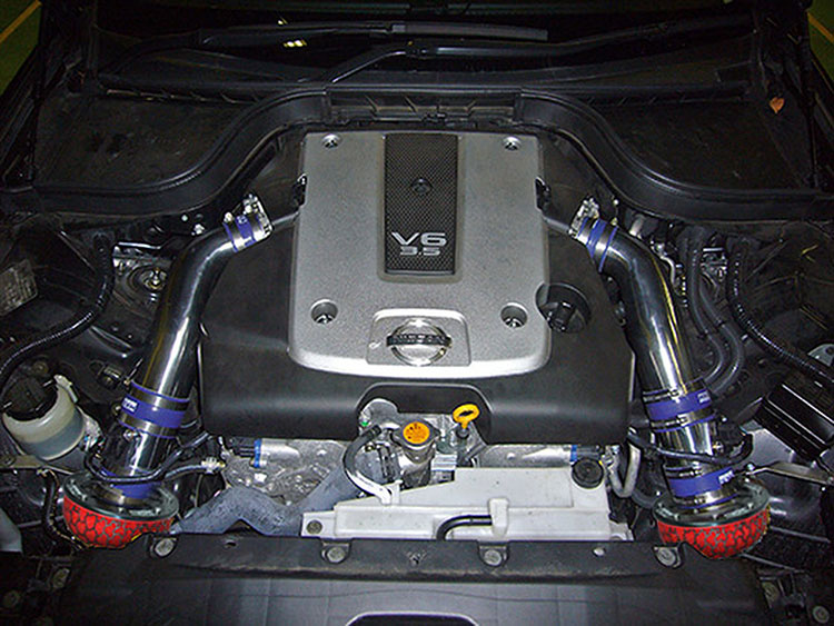 hks racing suction 370z intake
