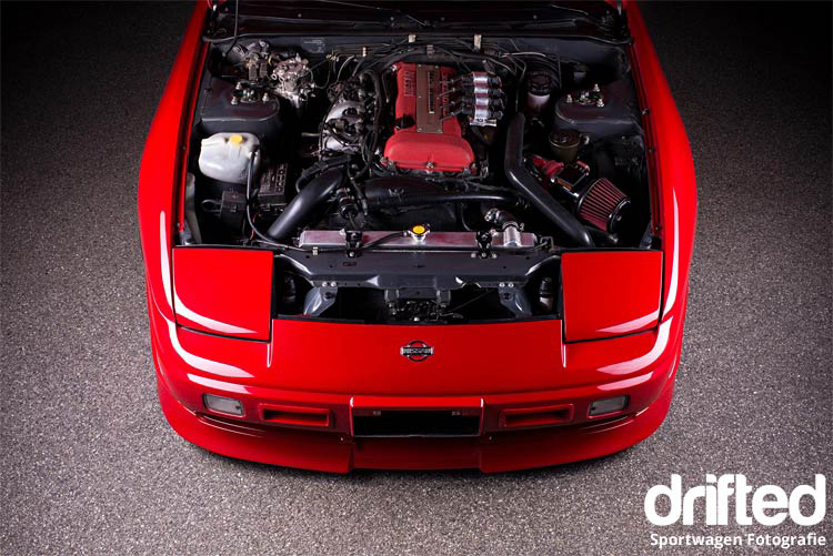 180sx sr20det engine bay
