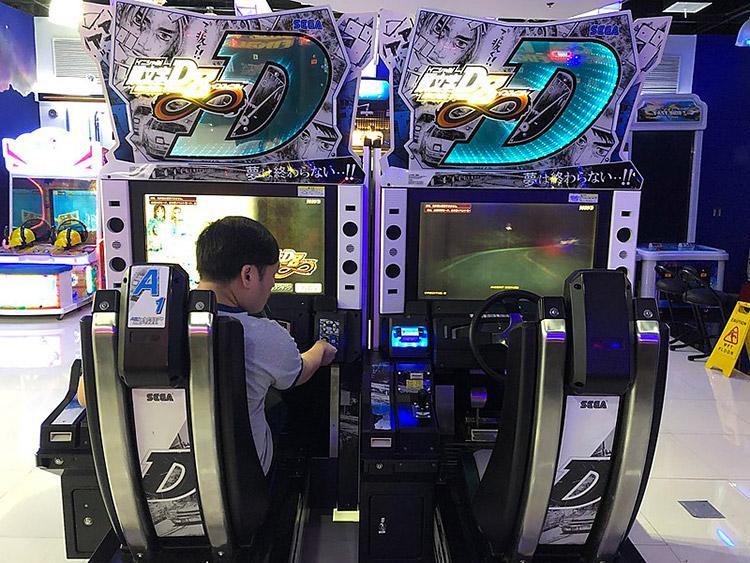 japan initial d arcade game