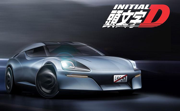 drift pan futuristic concept render nissan 400z