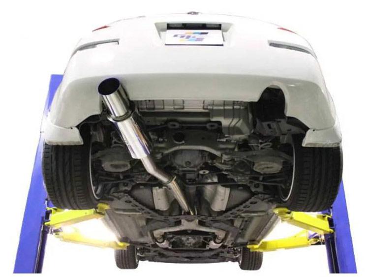 greddy gpp rs race 350z exhaust