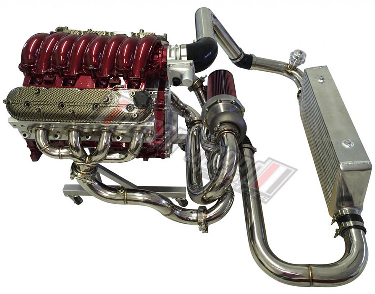 hurron speed engine single ls1 turbo kit