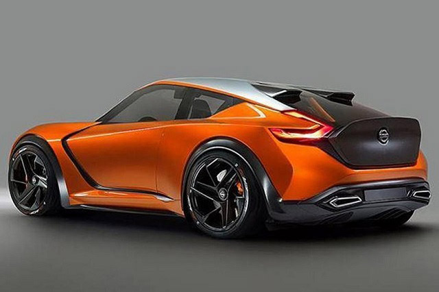 rear 2020-2021 nissan 400z