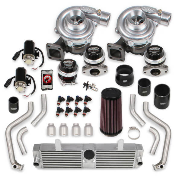 sts turbo remote mounted ls1 twin turbo system