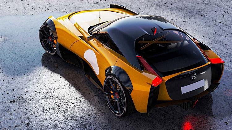 yellow concept car rumor nissan 400z
