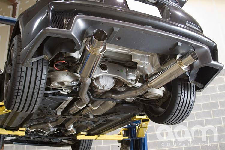 aam competition exhaust 350z