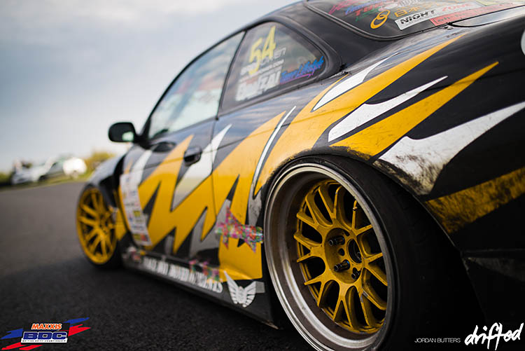 alex law bdc s14a s14 nissan silvia 240sx wide drift drifting drifted