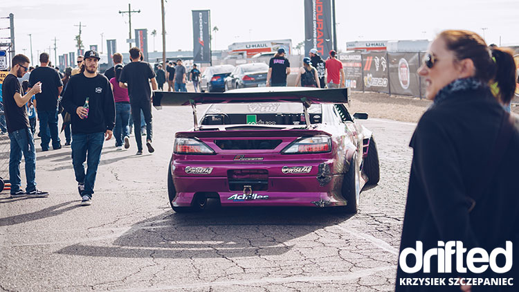 forest wang s15 silvia parked