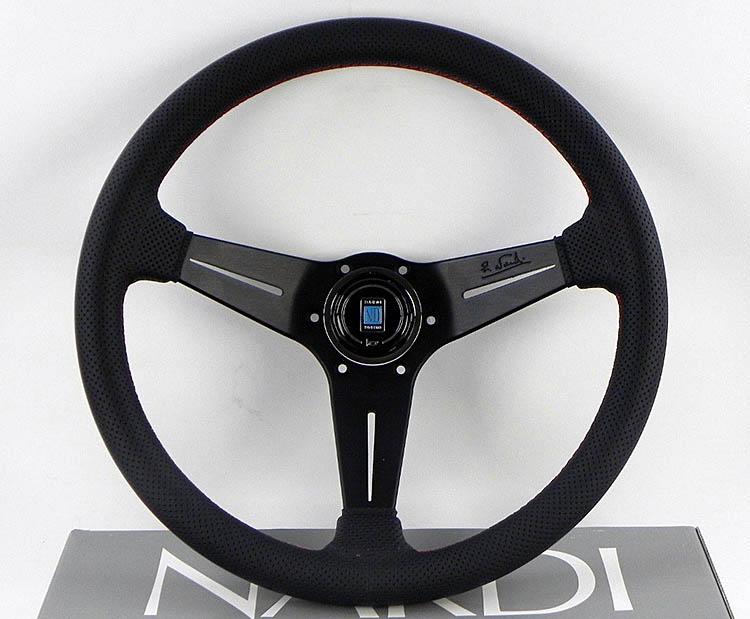nardi 350mm leather best racing steering wheel