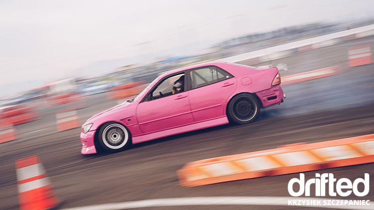 pink is300 drift car