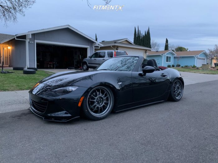black mx 5 miata mazda grand touring megan racing coilovers konig hypergram gunmetal mazda miata coilovers