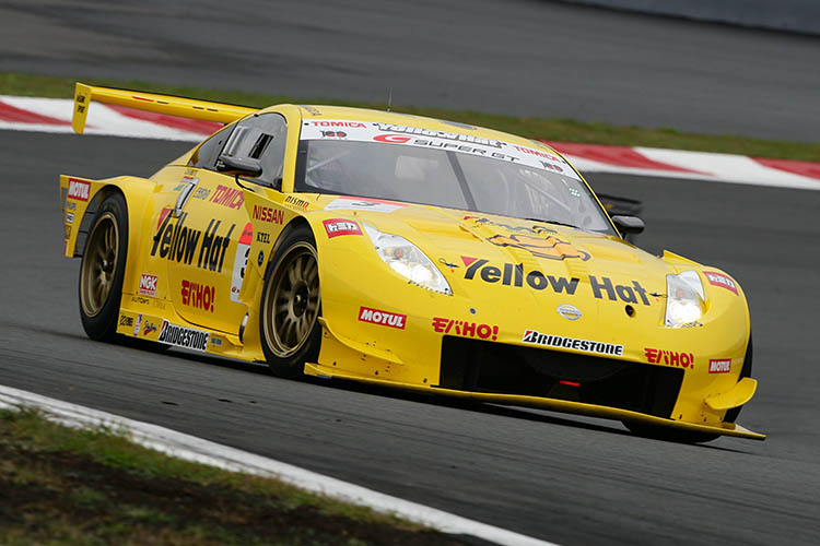 nismo 350z yellow track race