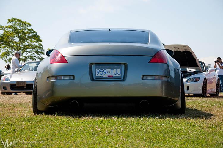 stanced rear