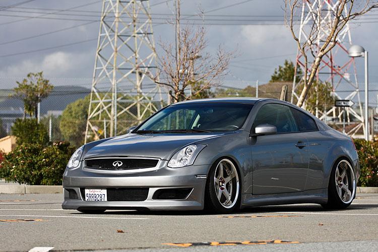 clean grey stanced g35