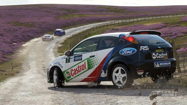 ford focus rs wrc marco martin michael park drift rwd gravel dirt drop forza horizon 4 best drift car