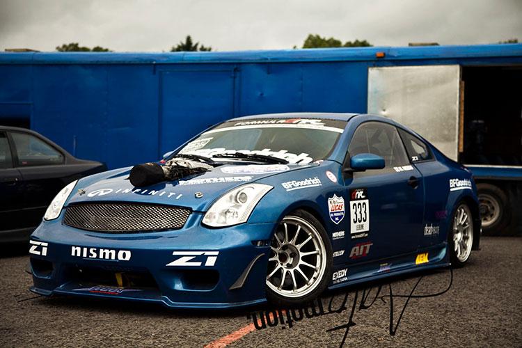 supercharged 350z v8 drift car