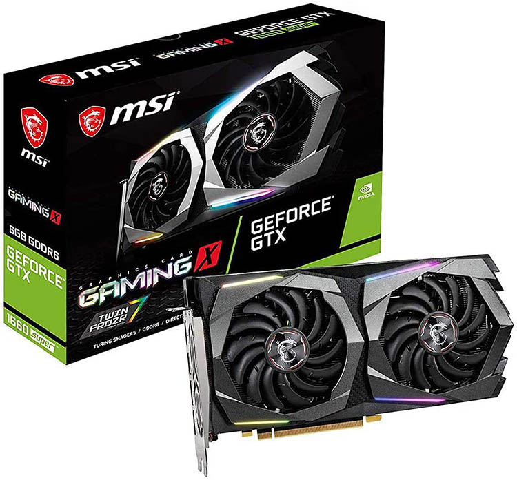 msi gaming geforce gtx 1660 super