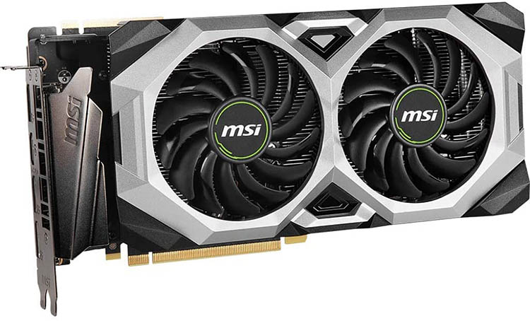 msi gaming geforce rtx 2080 super side