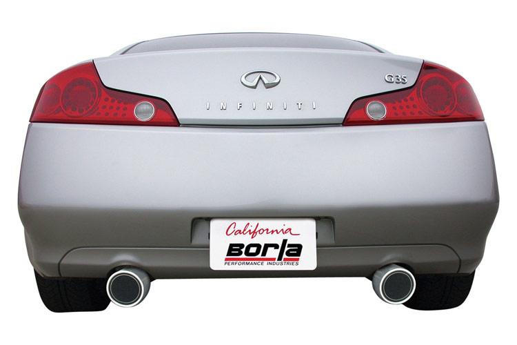 borla s type g35 exhaust