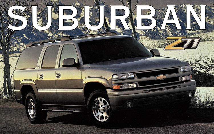 chevrolet suburban promo poster