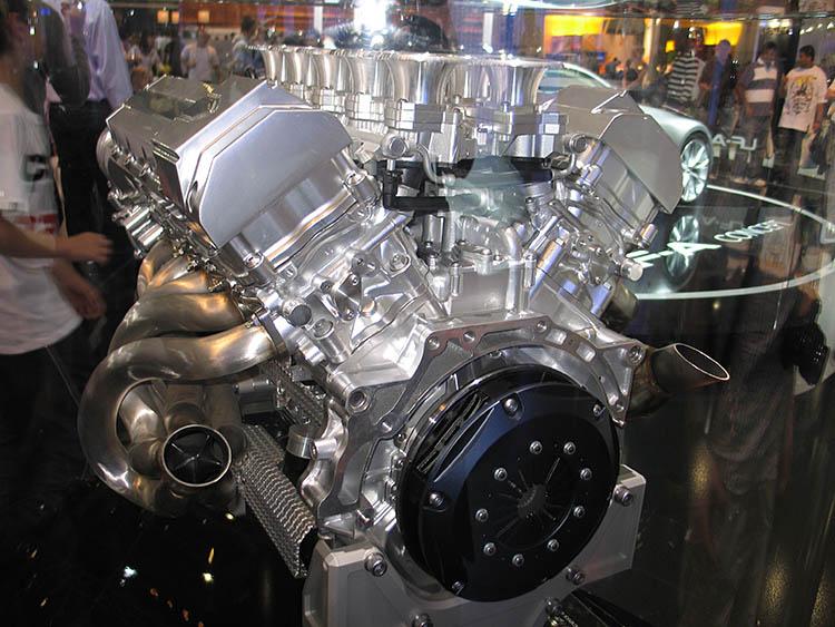 lexus lf a concept v10 engine block