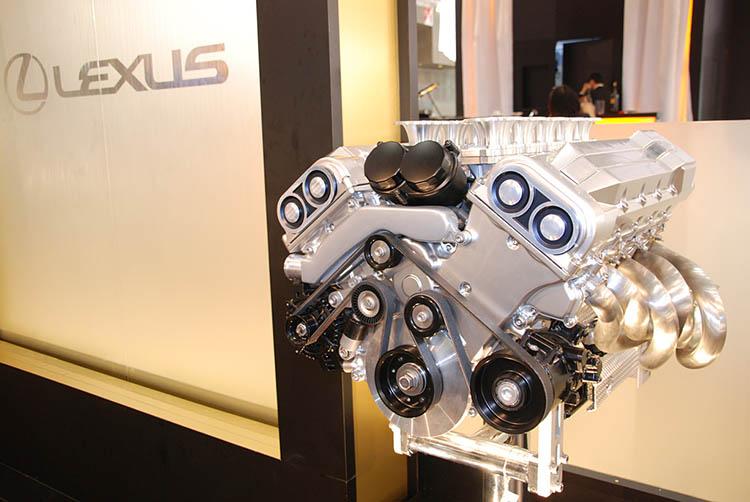 lexus lfa v10 engine stand