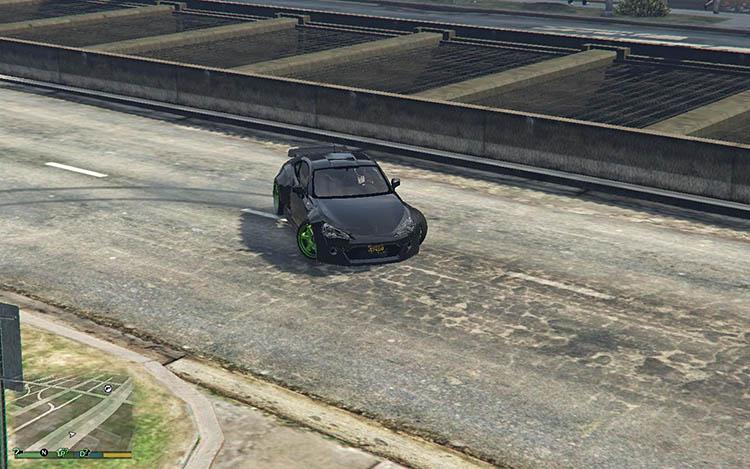 toyota gt86 rocket bunny drift handling mod