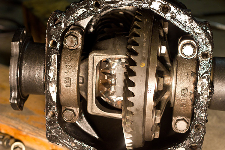 welded diff