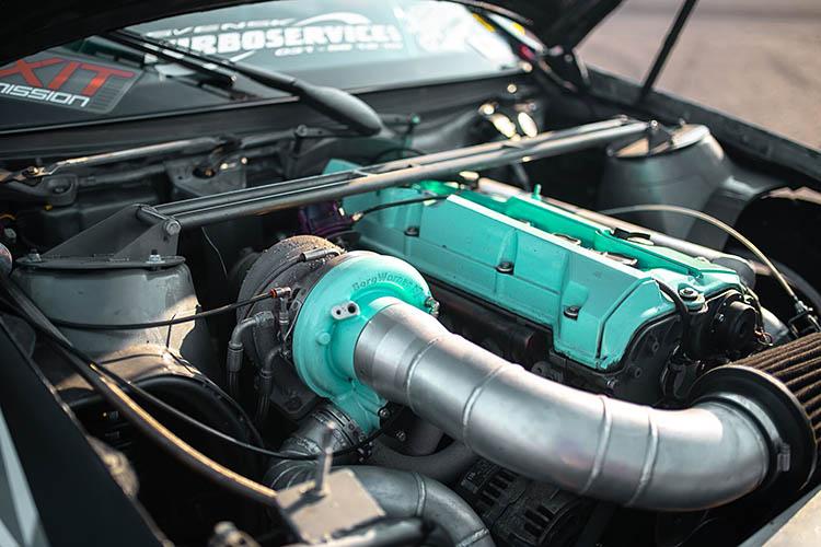 big turbo engine bay enginebay