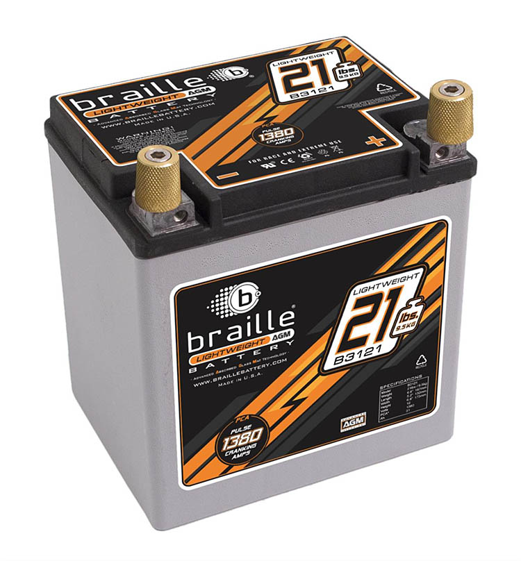 braille battery advanced agm lightweight racing b3121 no weight extreme carbon fiber
