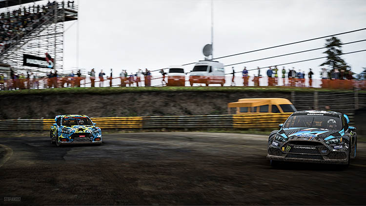 ford focus rs rallycross 16 2016
