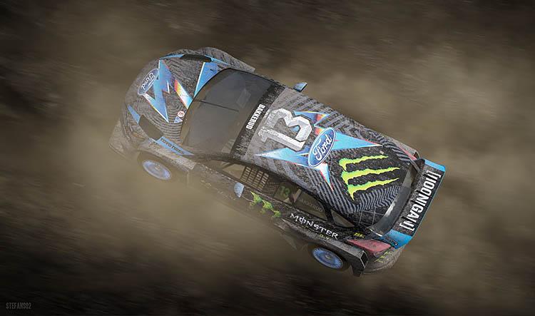 ken block rally monster dirty rallycross offroad