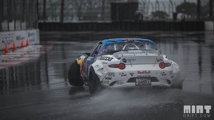 mad mike miata nd rf rear drift drifting wet formula drift fd