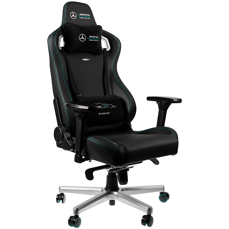 noblechairs mercedes amg petronas 2021 gaming chair