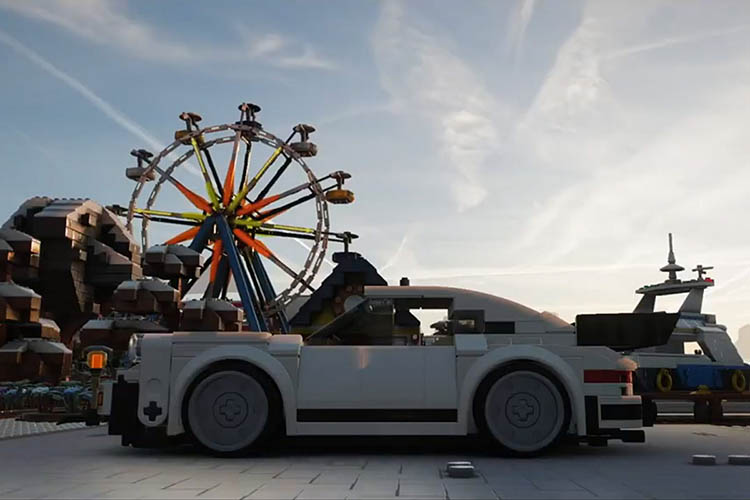 1974 porsche 911 turbo 3.0 lego speed champions edition dlc