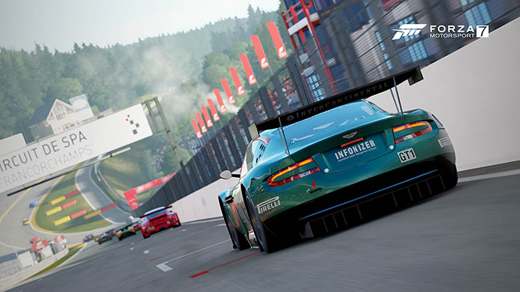 aston martin gt3 race racecar spa