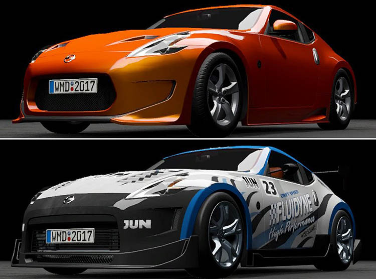 nissan 370z stock track day a