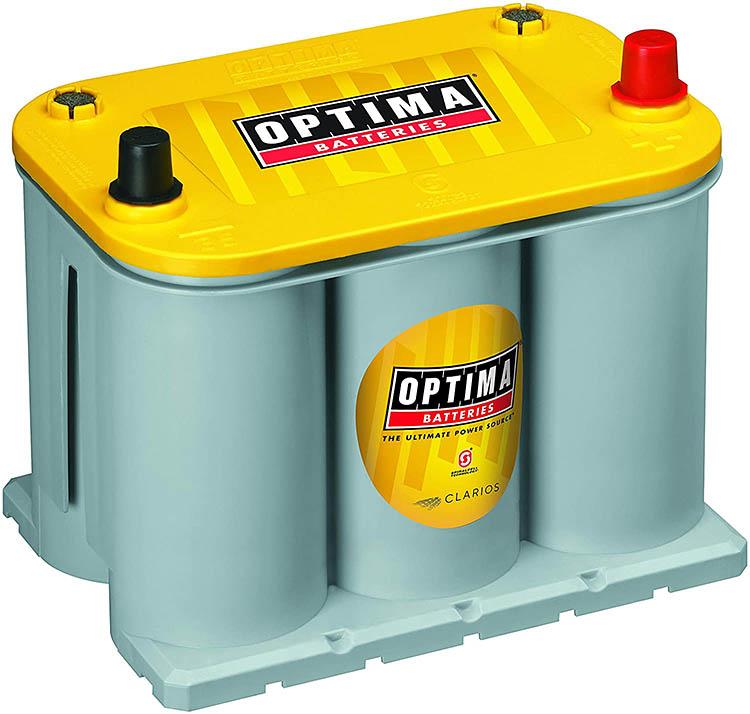 optima d35 yellowtop yellow top