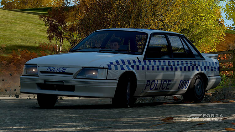 police cops cop car drifting drift hoolden hdt commodore australia