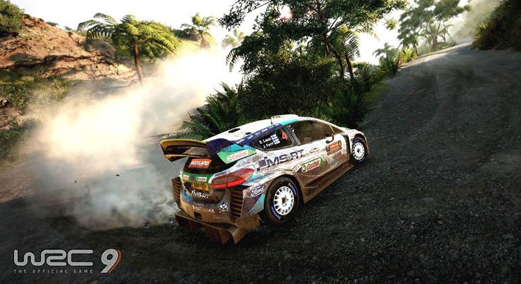 wrc 9 rally xbox one x