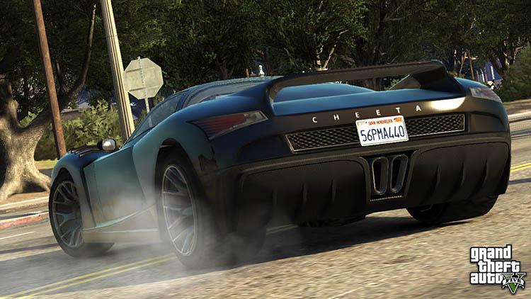 cheeta supercar hypercar gta online drift drifting